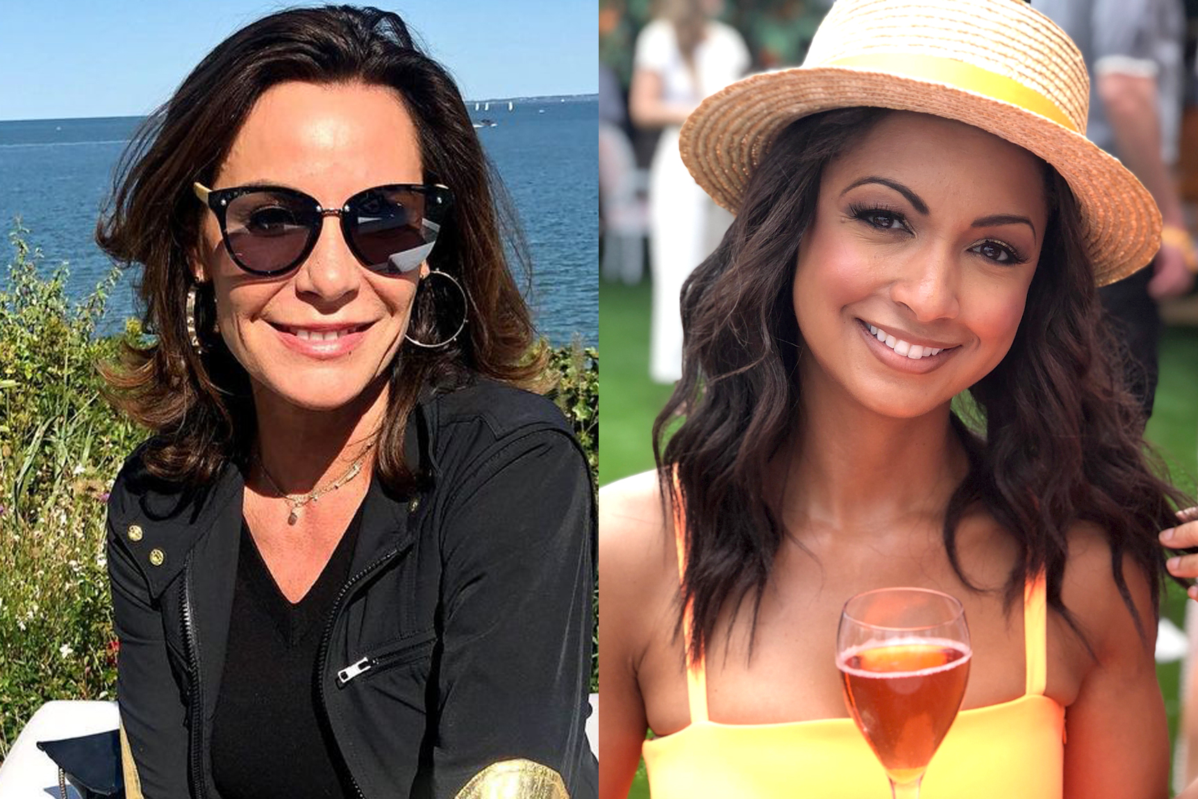 Luann Delesseps Eboni Williams Rhony