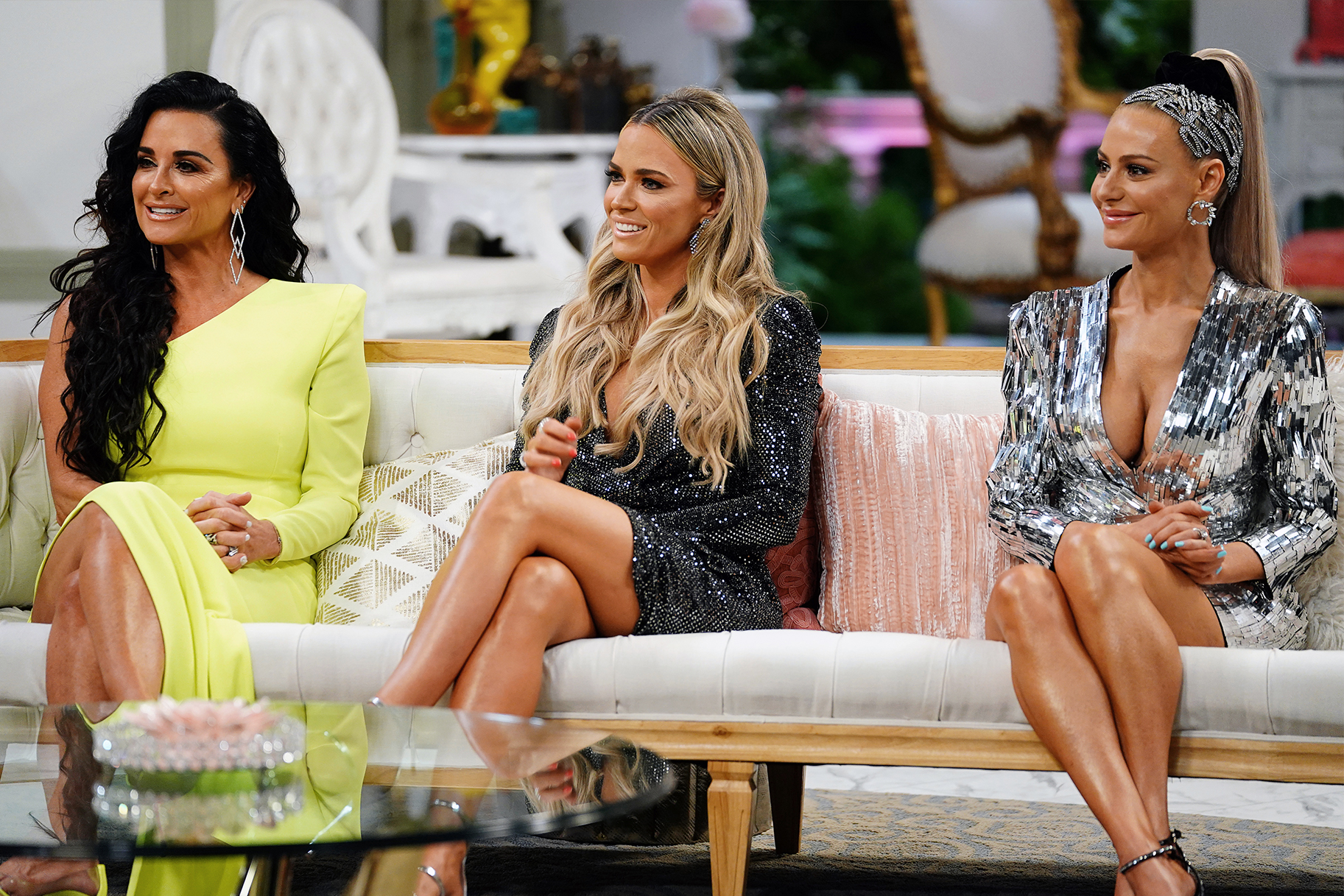 Kyle Richards Teddi Mellencamp Dorit Kemsley Live Nearby