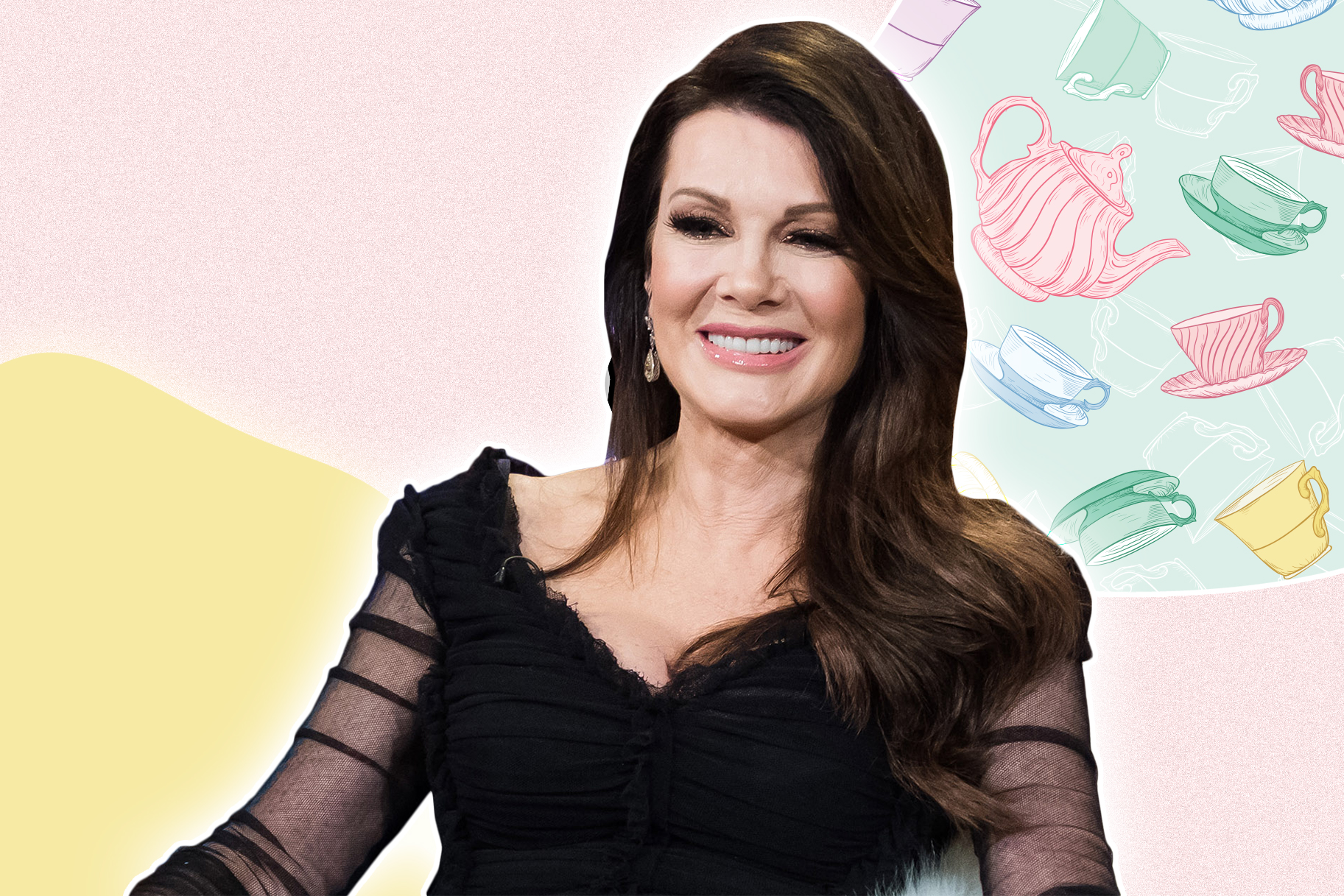 Lisa Vanderpump Rhobh Tea