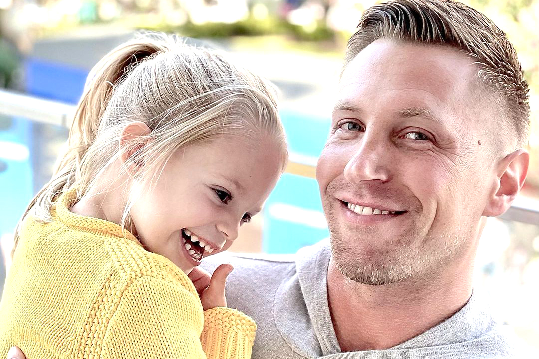 You Can't Help But Smile at This Adorable Pic of Gage Edward & Daughter Monroe