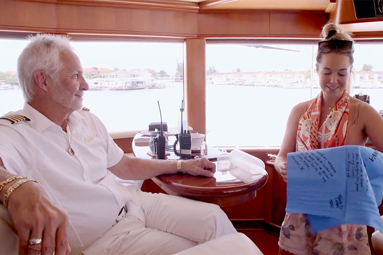 Captain Lee Below Deck Shammy