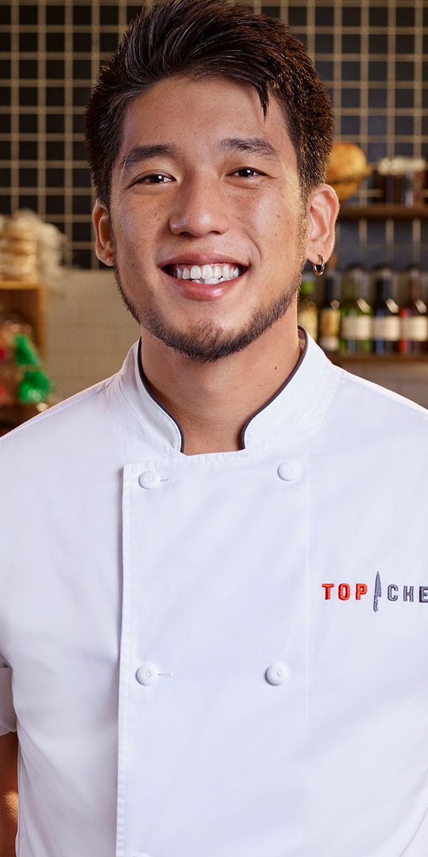 Top Chef Season 18 Bodyshot Shota Nakajima
