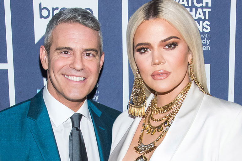 Andy Cohen Khloe Kardashian For Real