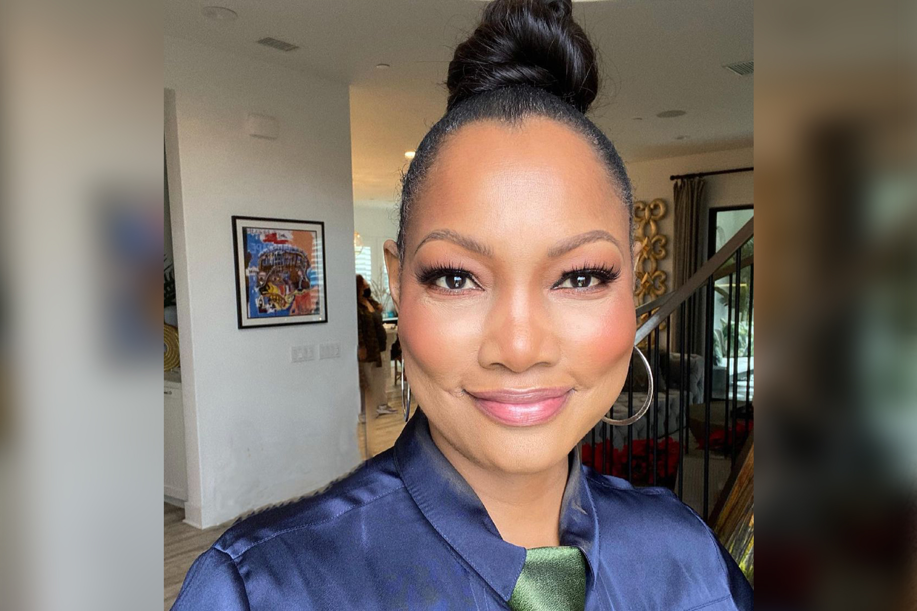 Garcelle Beauvais Butterfly Tattoo