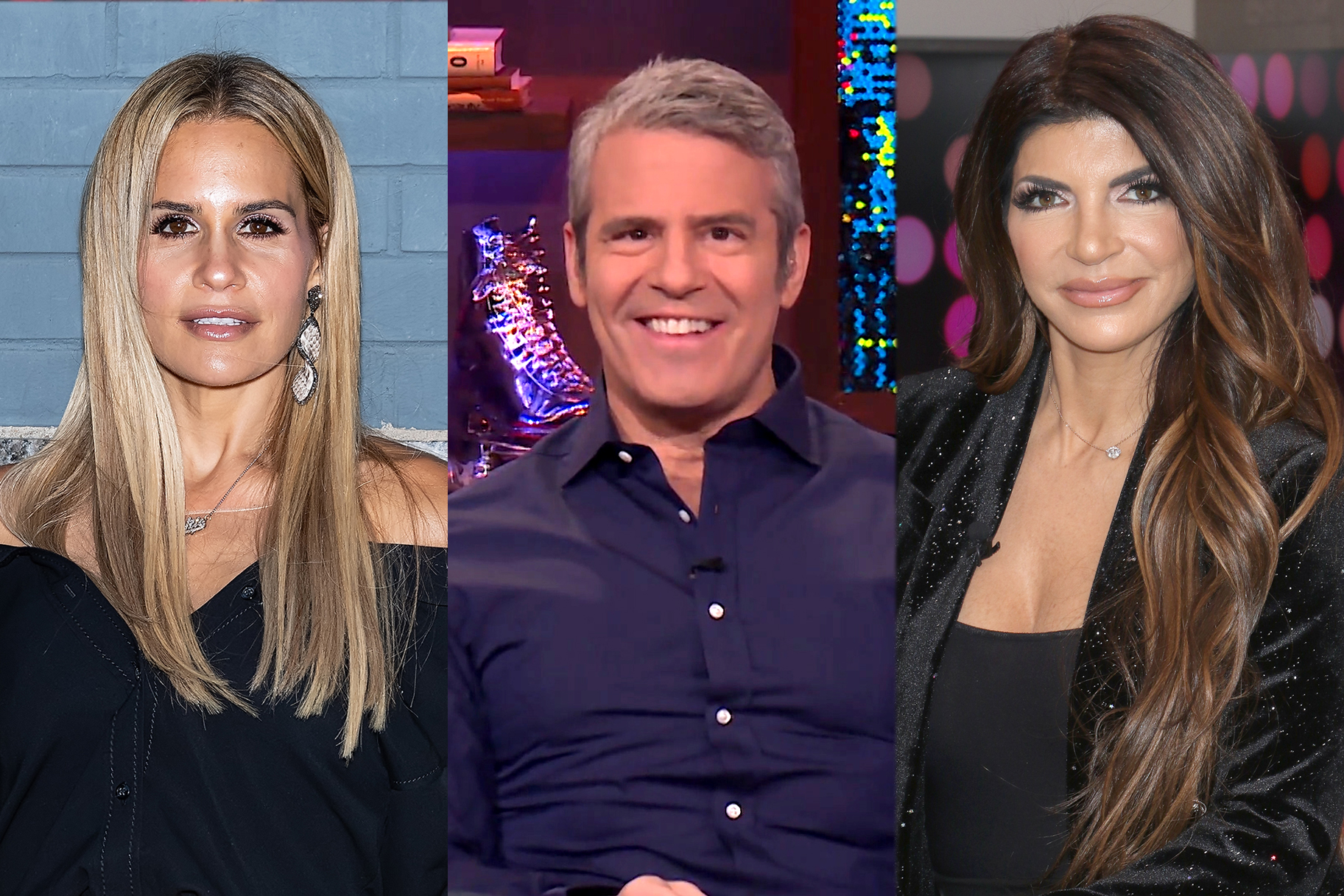 Jackie Goldschneider Andy Cohen Teresa Giudice