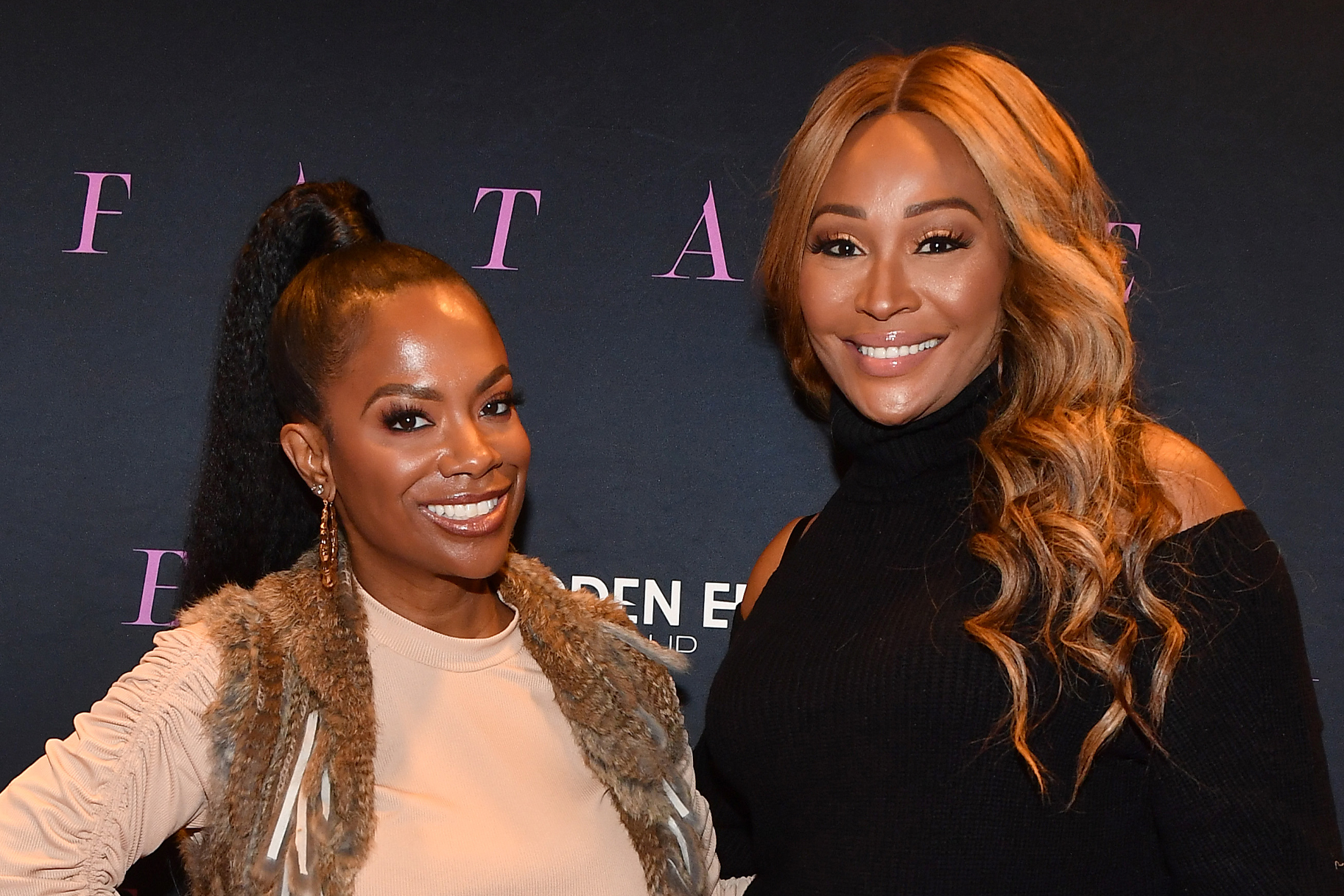 Cynthia Bailey Kandi Burruss Steakhouse