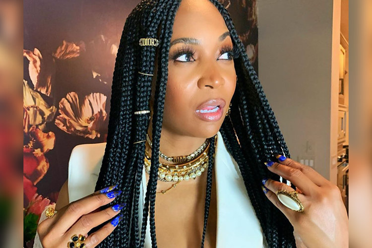 Marlo Hampton Hair Nails 2021