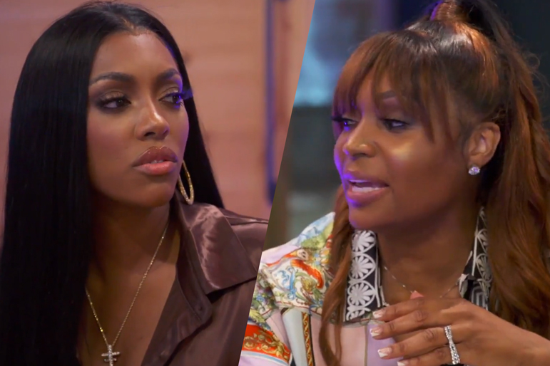 Porsha Williams Marlo Hampton Rhoa