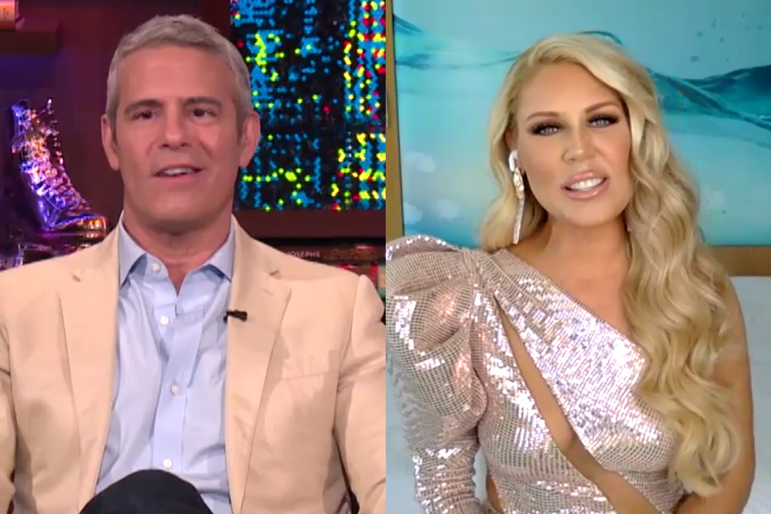 Gretchen Rossi Andy Cohen Wwhl