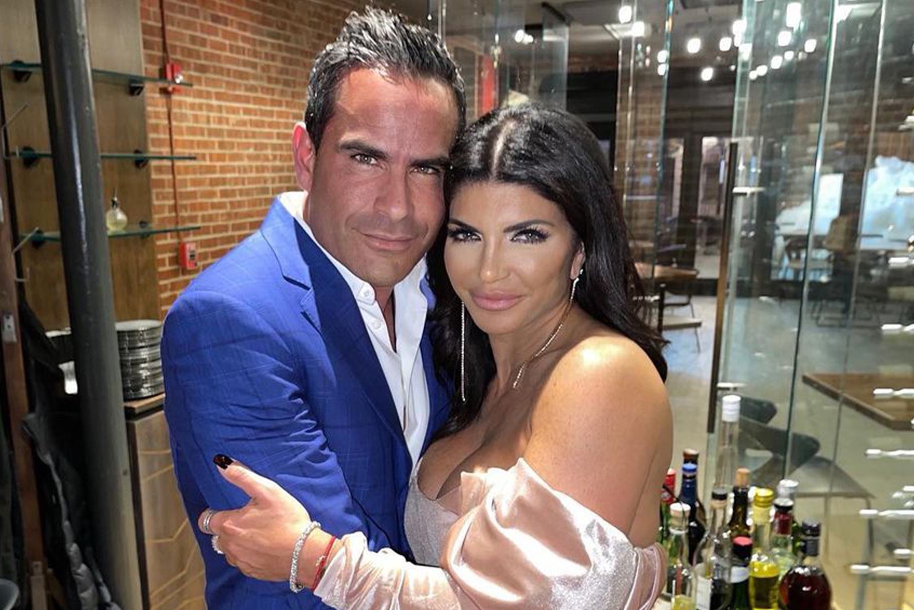 Teresa Giudice Date Night Dinner 1