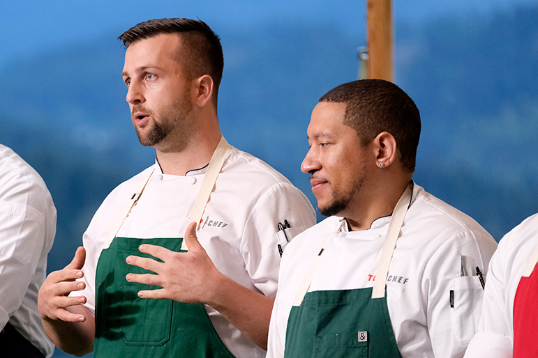 Top Chef Double Elimination Nelson Gabriel