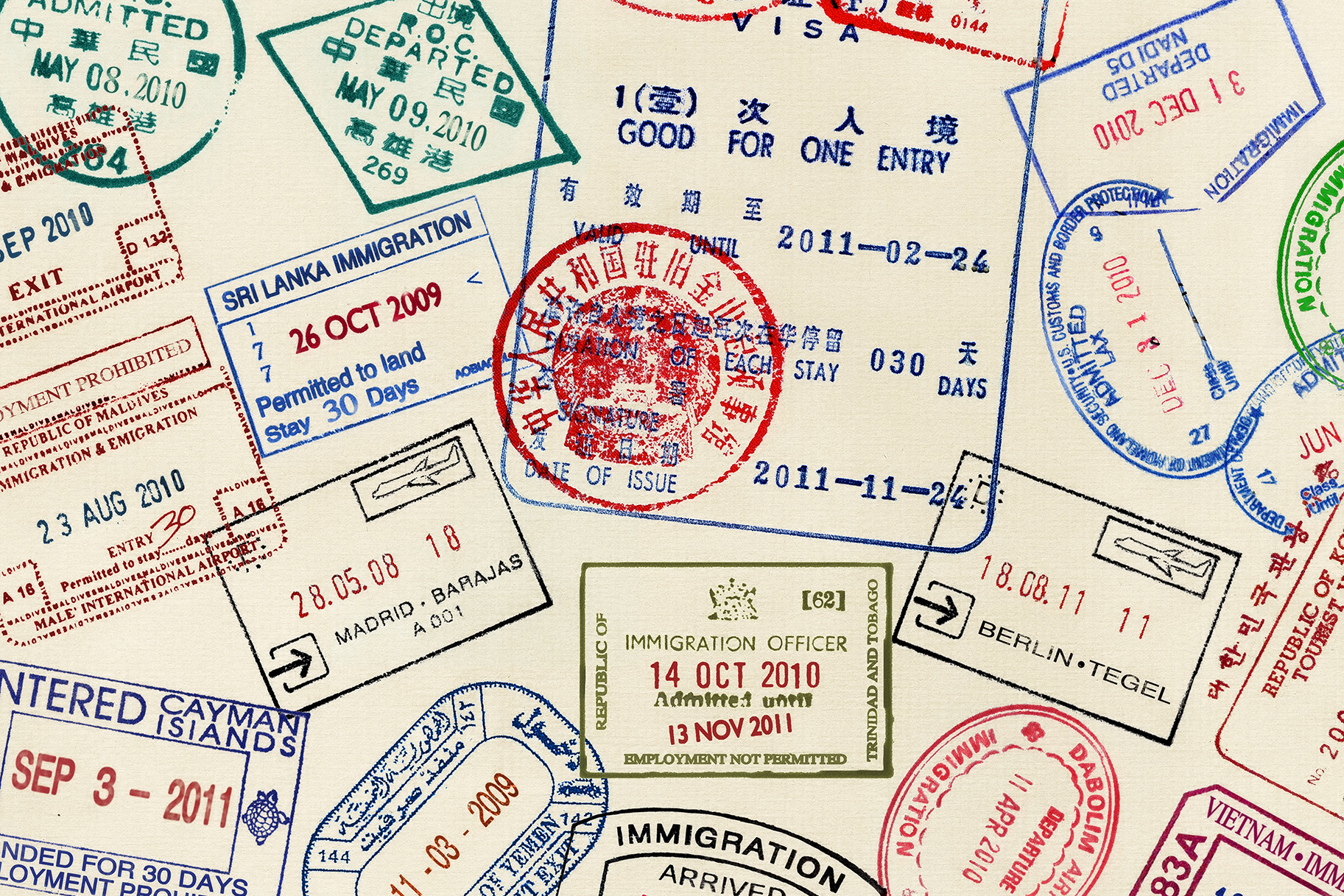 Heres Why These Are The 11 Coolest Passport Stamps In World