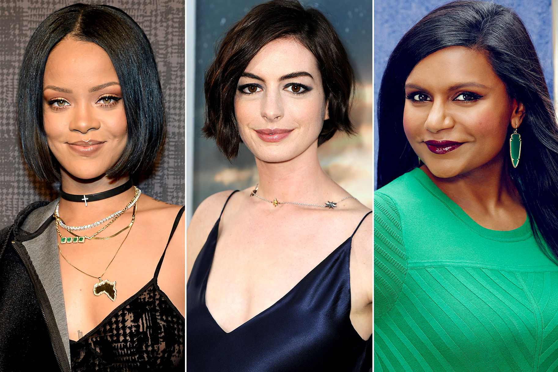 Rihanna Anne Hathaway Mindy Kaling To Star In Ocean S Eight The Daily Dish