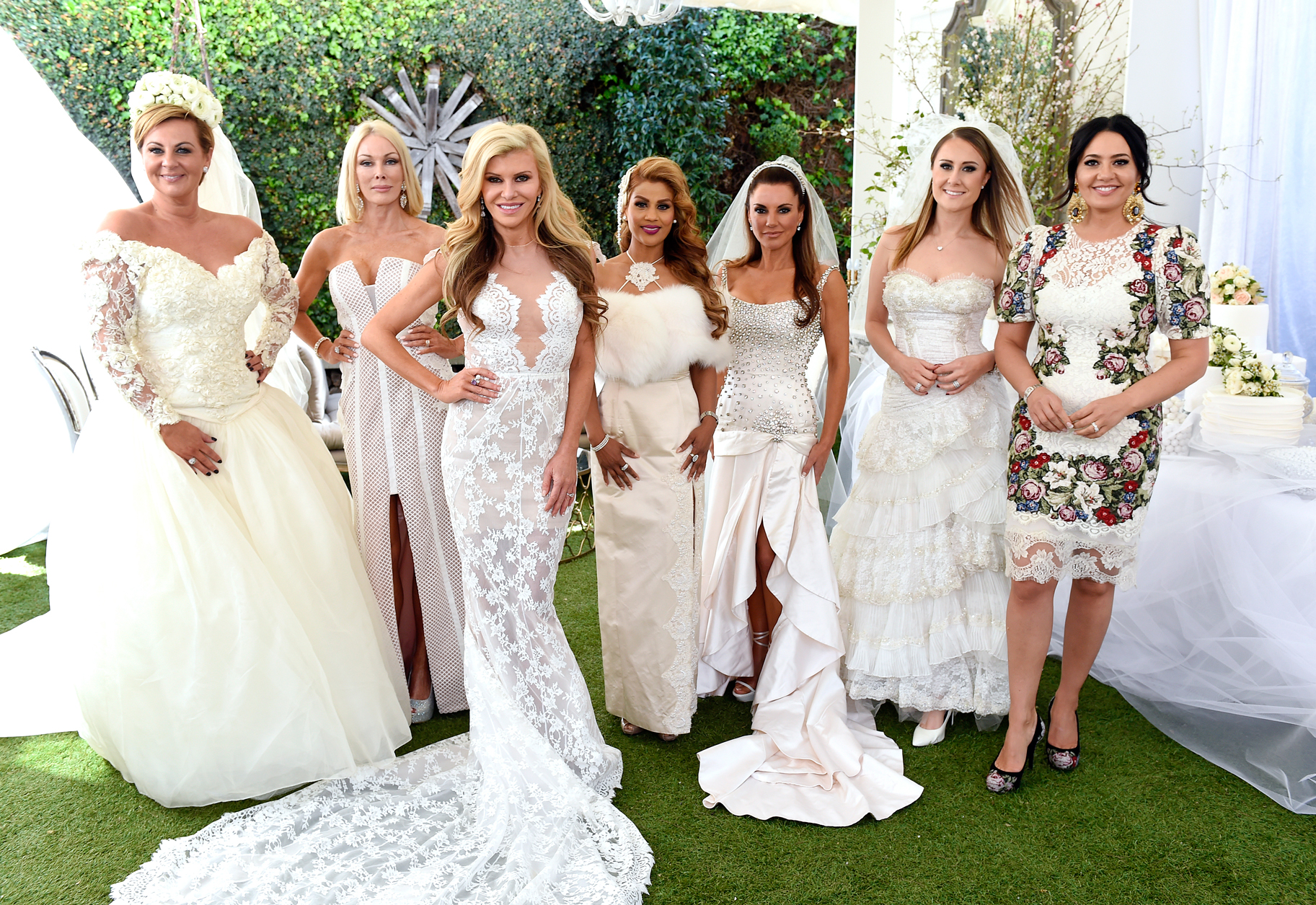 Real Weddings Melbourne: Something Old: The Melbourne Housewives Wear Their Wedding