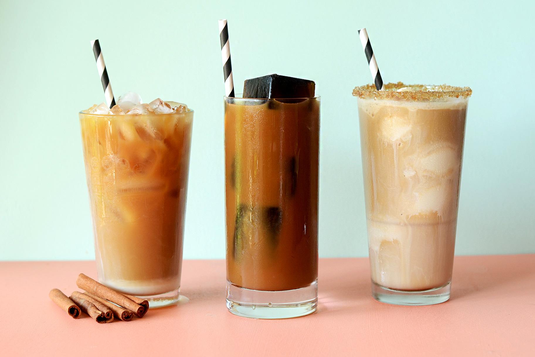 Картинка холодный кофе