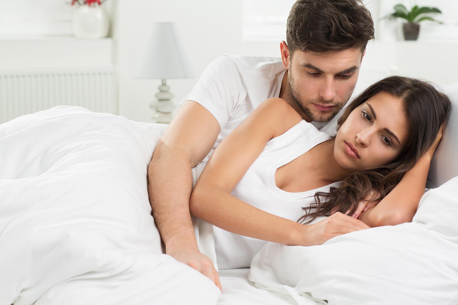 отношения мужа и жены в постели любую девушку что