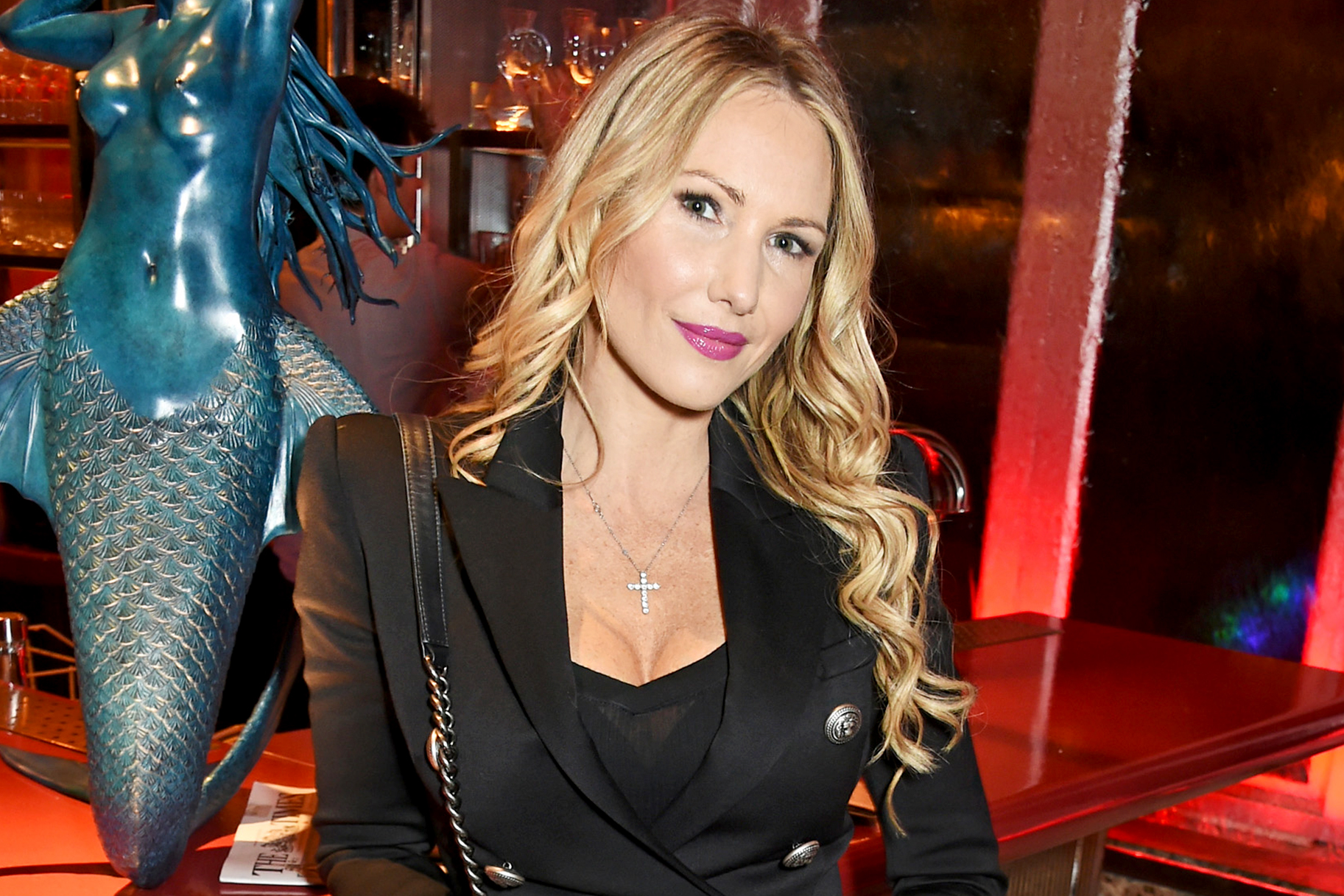 The 47-year old daughter of father (?) and mother(?) Adela King in 2021 photo. Adela King earned a  million dollar salary - leaving the net worth at  million in 2021