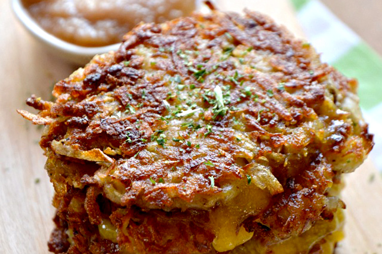 Grilled Cheese Latkes! 6 Delicious Spins on Classic Potato Pancakes