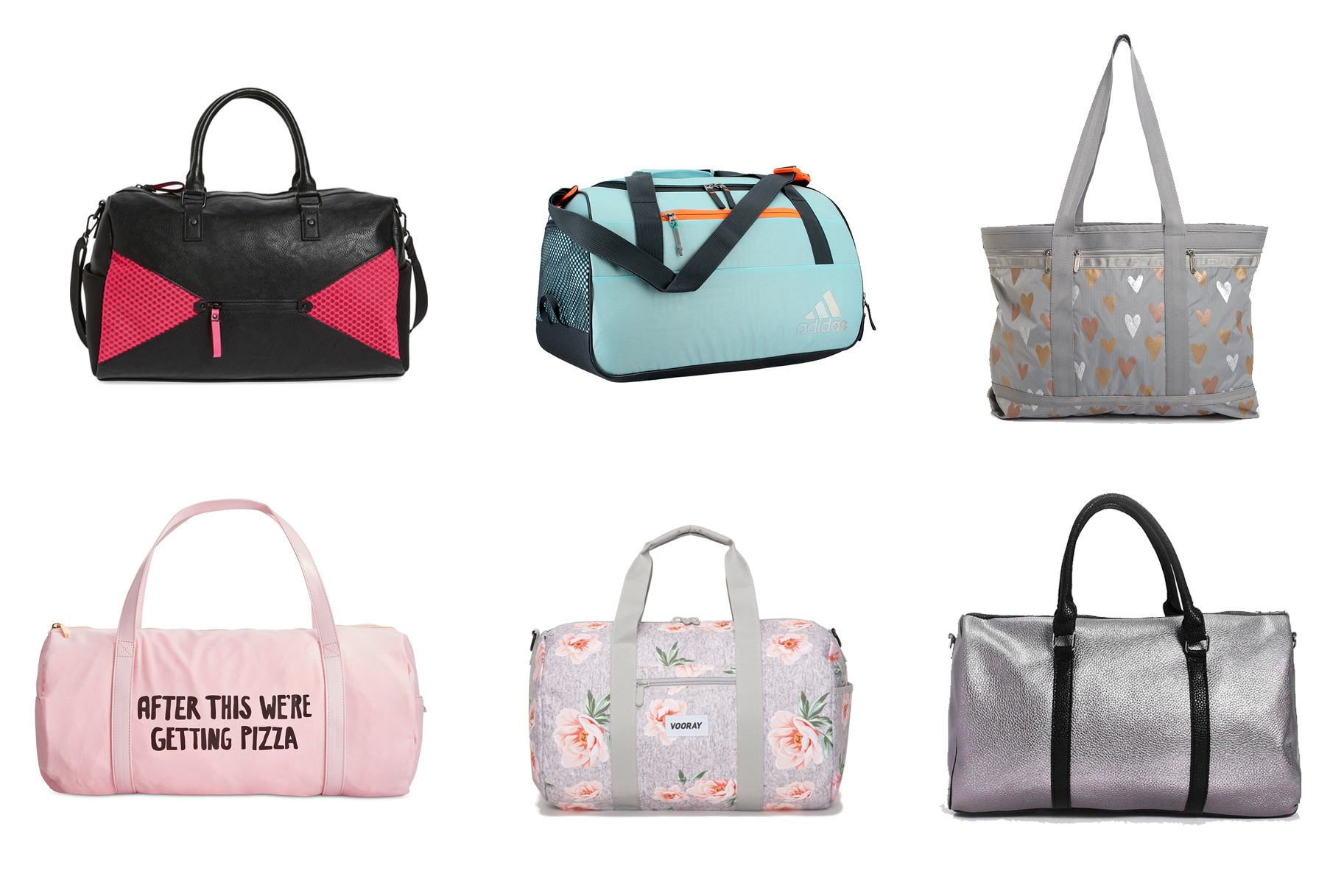 37c1a400c4 Pretty and Practical! 20 Gym Bags You Need Right This Second