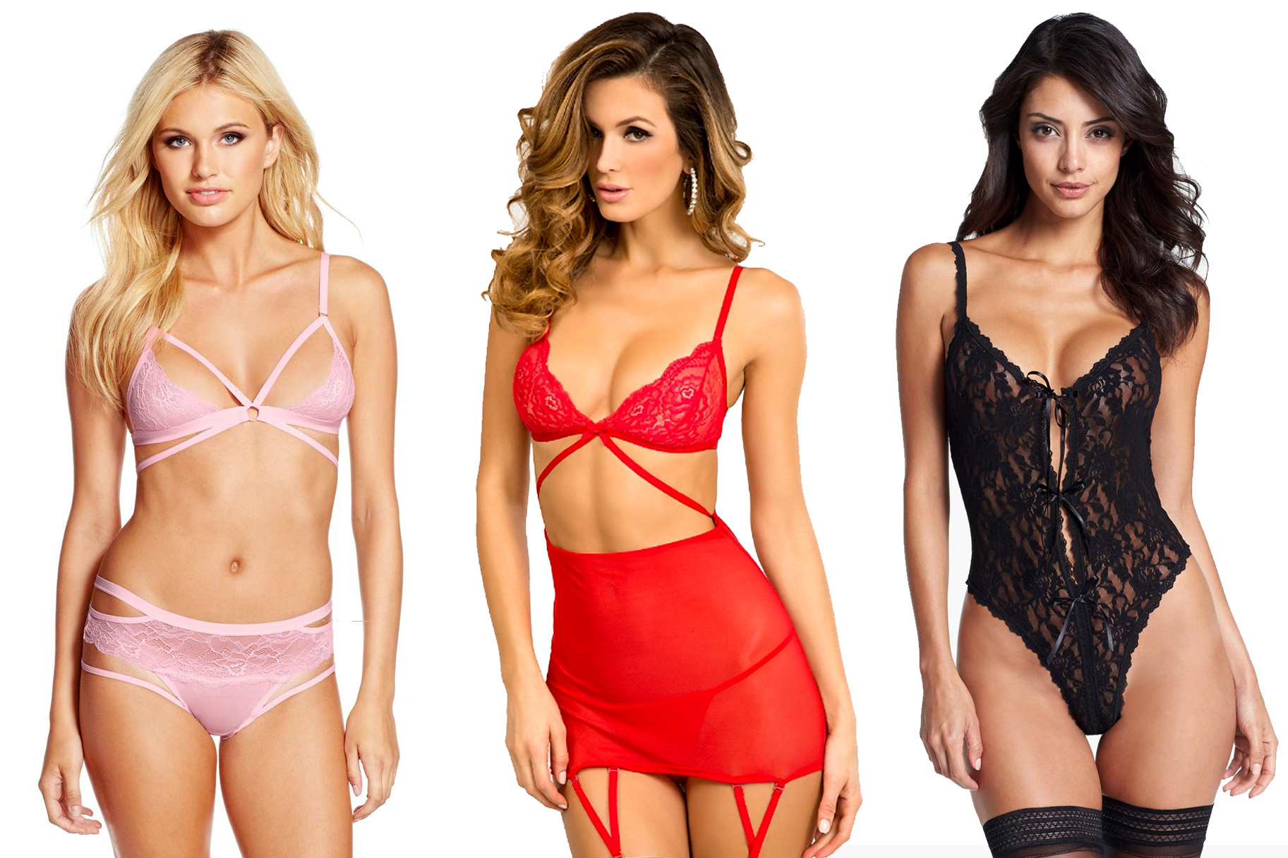 0c4cca8c824 15 Droolworthy Valentine s Day Lingerie Options