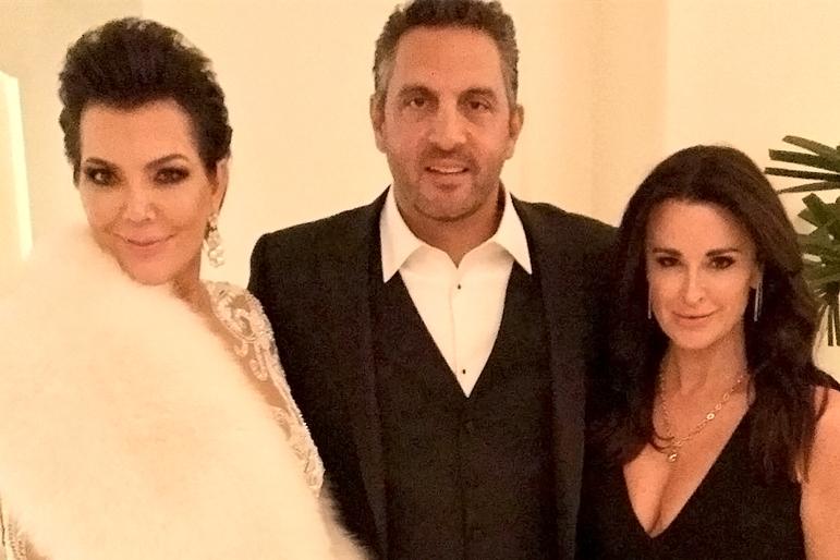 Kyle Richards On Friendship With Kris Jenner Kim Kardashian Sex