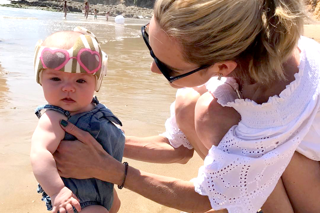 11a9b1ce7b36 Meghan King Edmonds On Her Daughter s Helmet