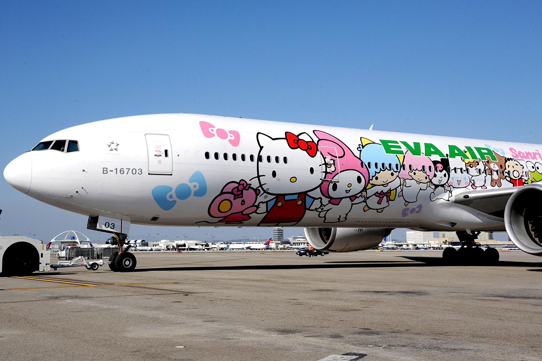 79219dd97 I'm a Grown-Up Man And I Got Giddy to Fly on a Hello Kitty Plane