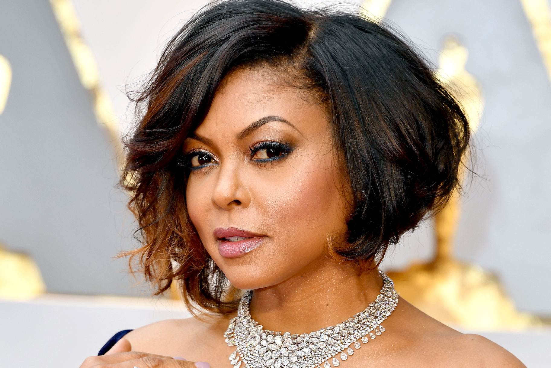 Stupendous Taraji P Henson Gets Blunt Bob With Bangs Haircut See Pics Natural Hairstyles Runnerswayorg