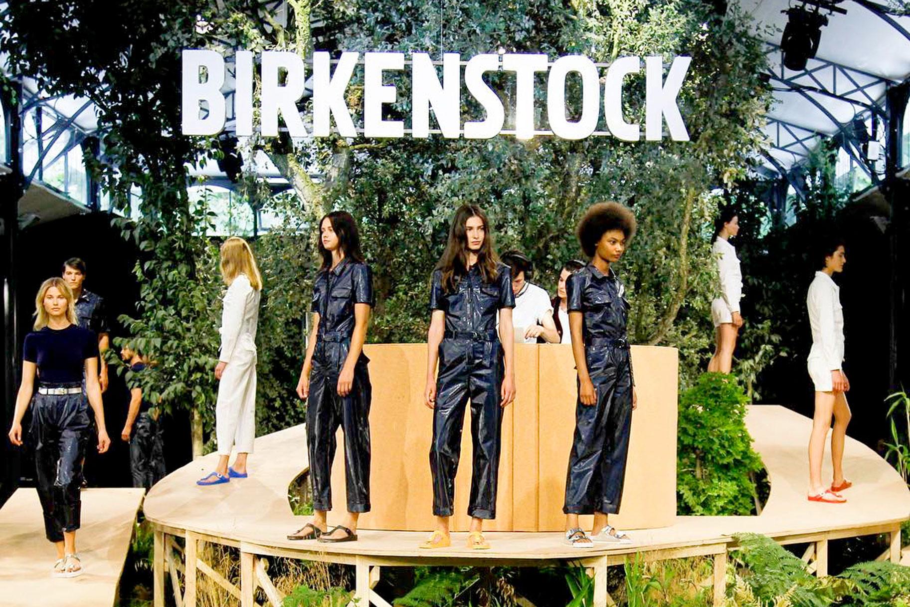 birkenstock stages a paris runway show lookbook. Black Bedroom Furniture Sets. Home Design Ideas