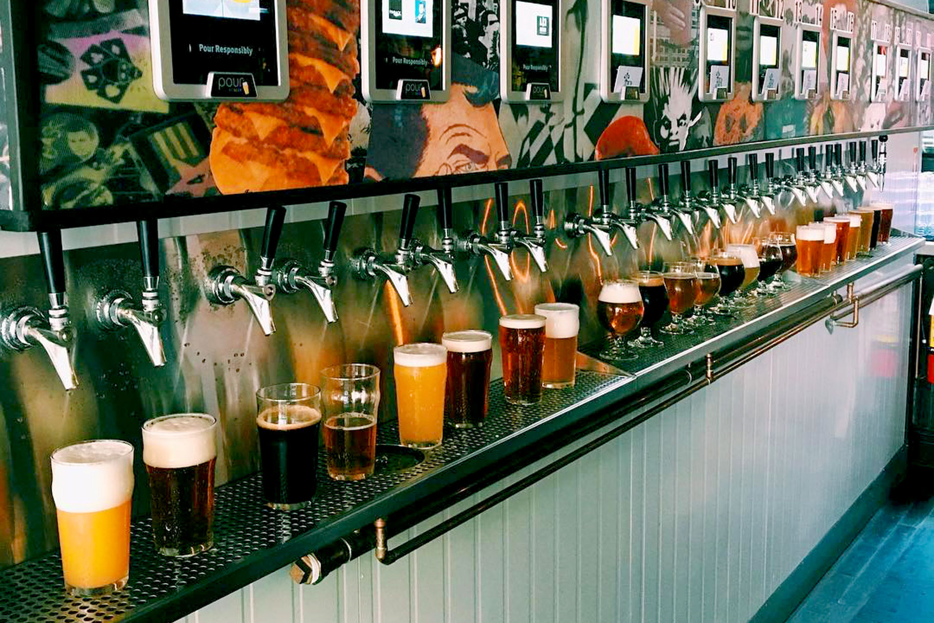 This Atm Dispenses 24 Different Types Of Beer Not Money The Feast