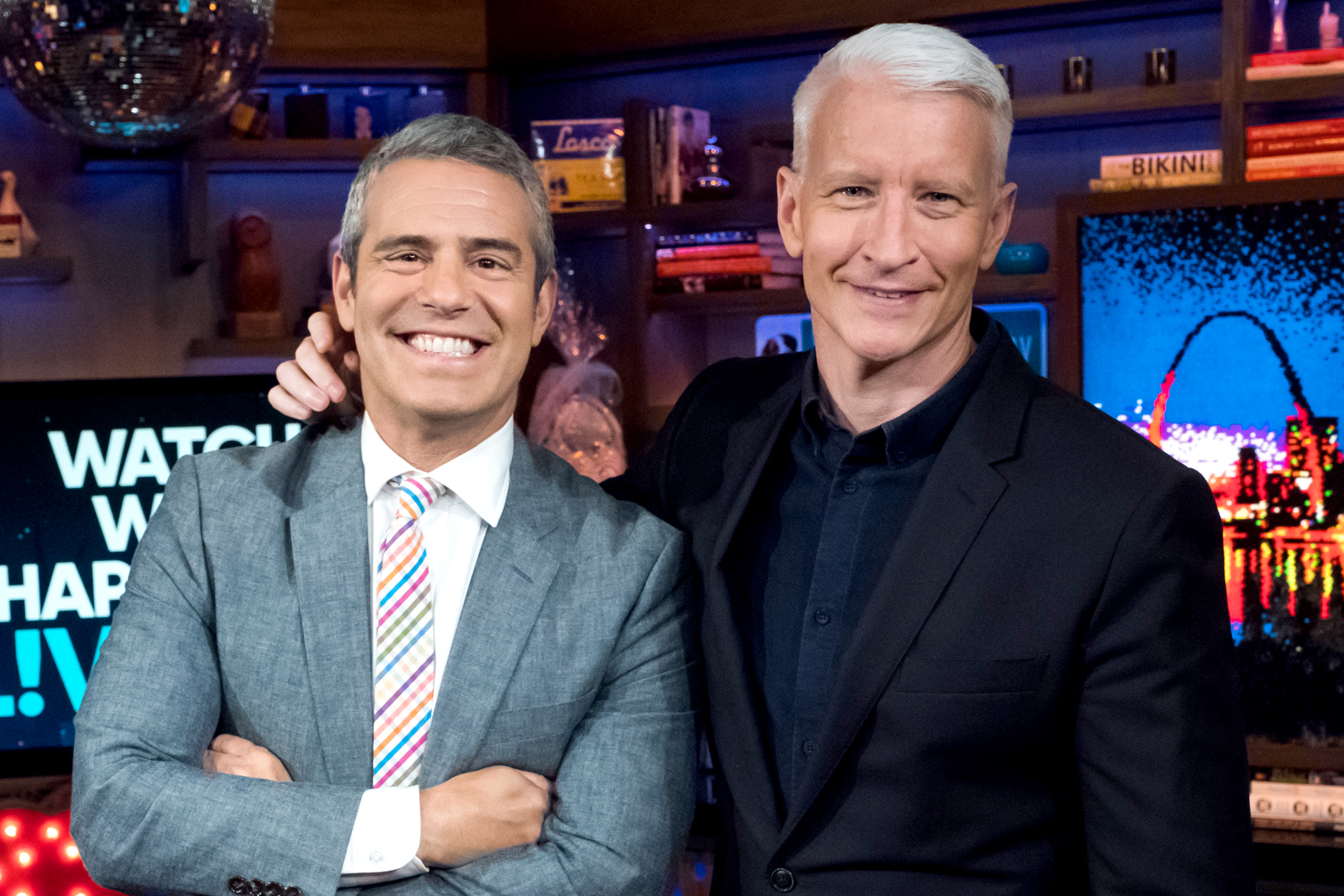 Andy cohen to host new year eve with anderson