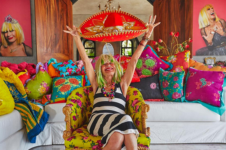 Now You Can Betsey Johnson S Mexican Villa With Vibrant Backdrops Guaranteed To Up Your Insta