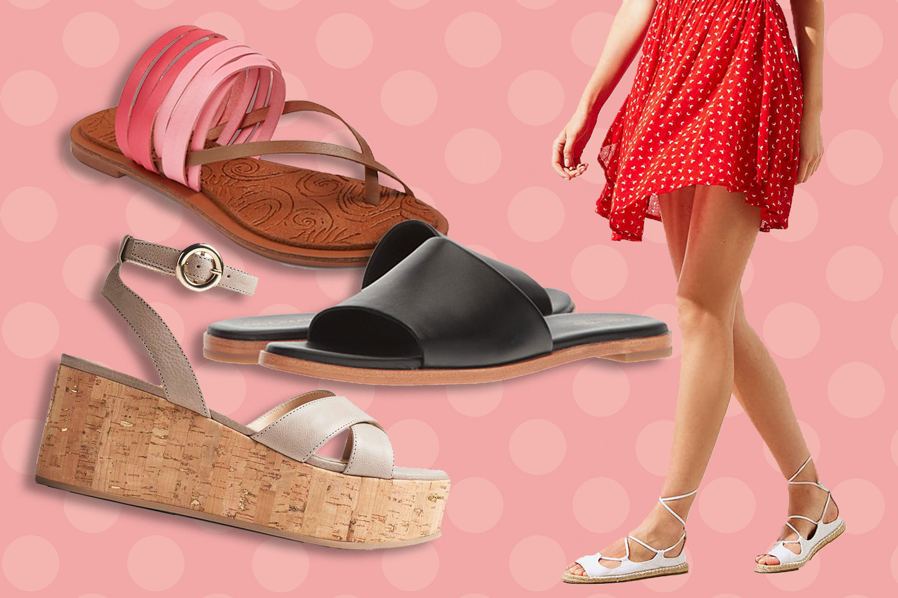 9ed5e0fc8b Say This 5 Times Fast: 16 Summer Sandals on Sale