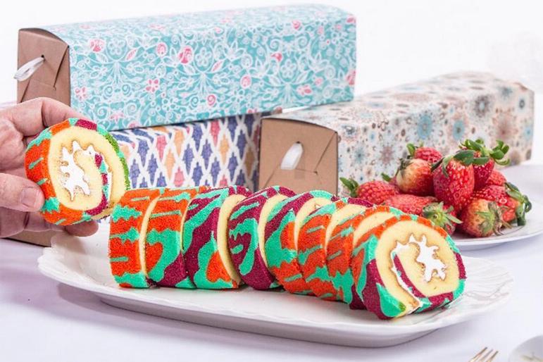 Batik Roll Cakes Batikrolls Nura Singapore Style Living