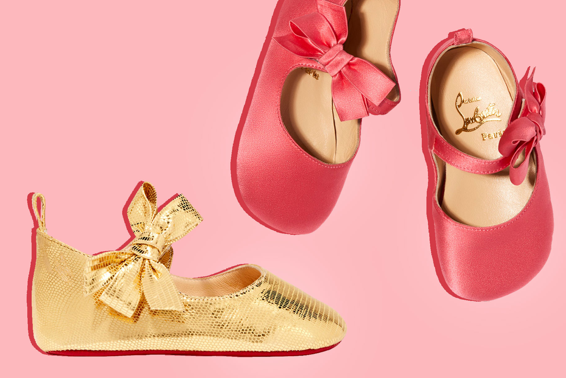 2451c731997 Goop Teams Up With Christian Louboutin on  250 Baby Shoes
