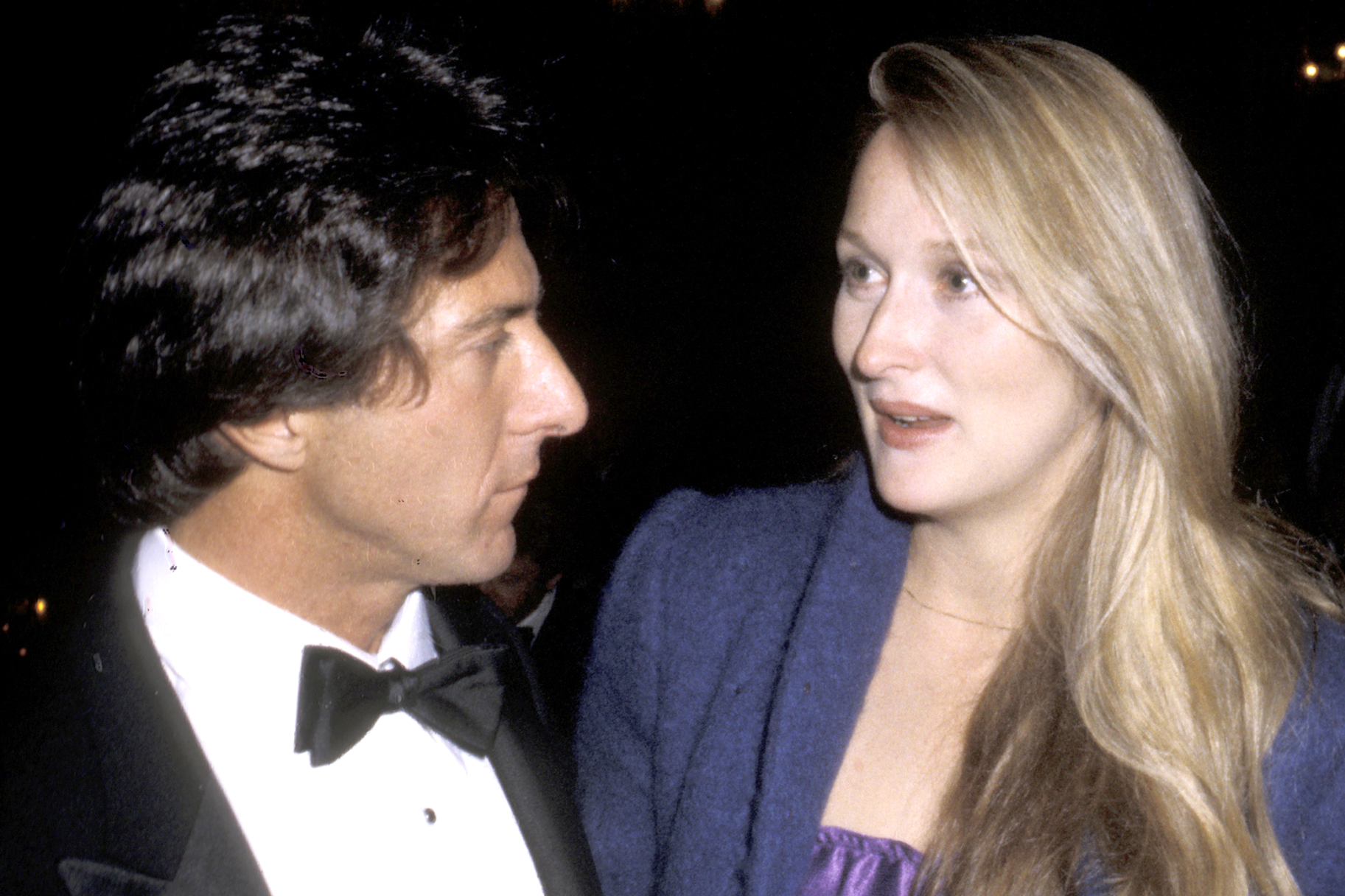 Meryl Streep Says Dustin Hoffman Hitting Her Was Overstepping The Daily Dish