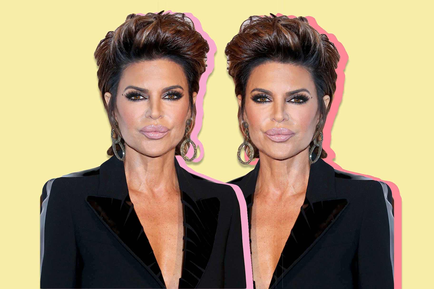 Lisa Rinna s New Look Is Seriously Jaw-Dropping fd3857cb0