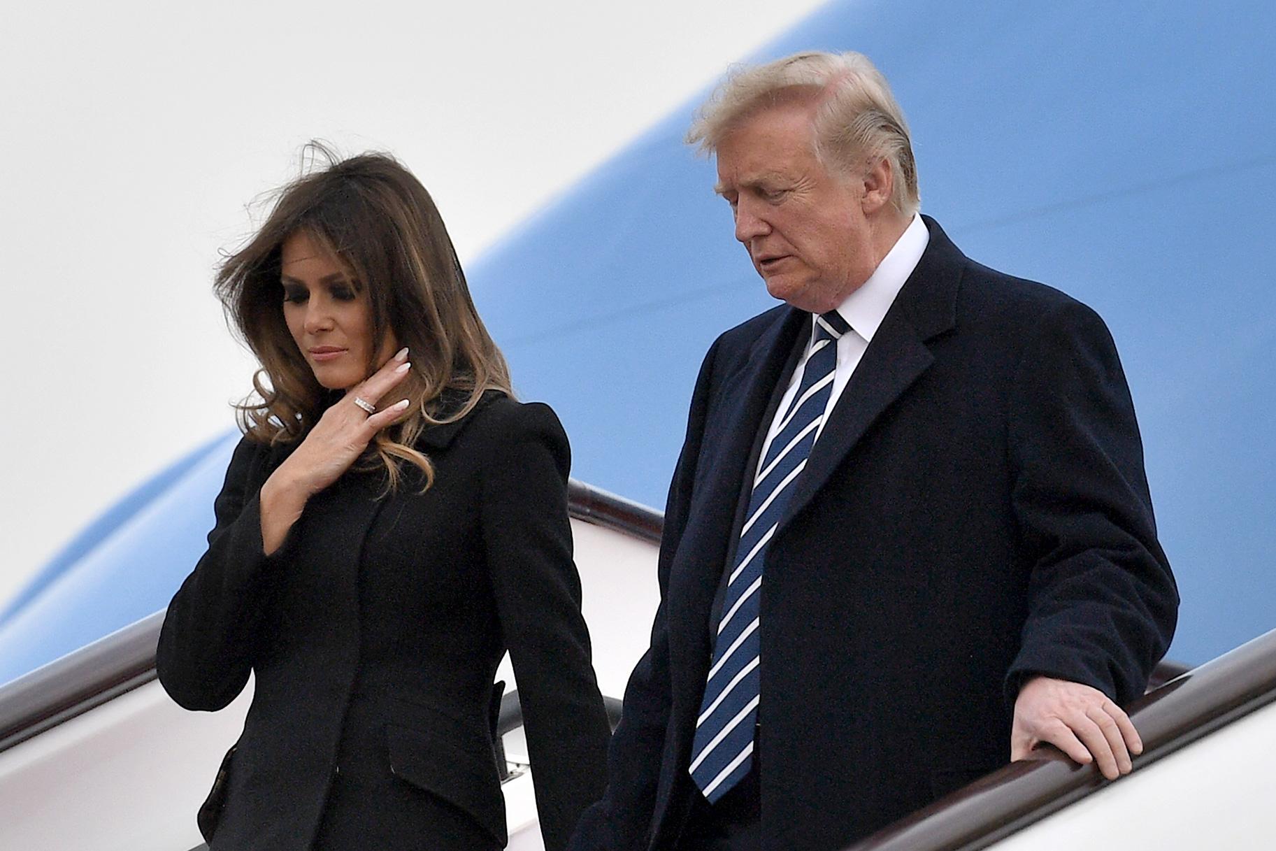 Trump And Melania Wedding.Donald Trump Melania No Wedding Anniversary Social Media