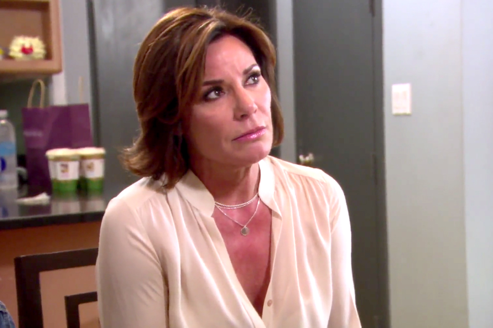 Luann De Lesseps Love Is Blind And So Was I The Real Housewives