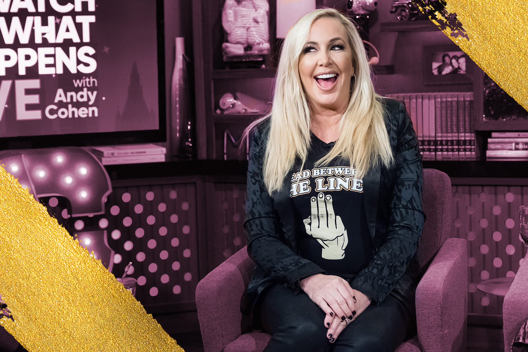 Shannon Beador QVC Food Line Real for Real Nominated Burger of the