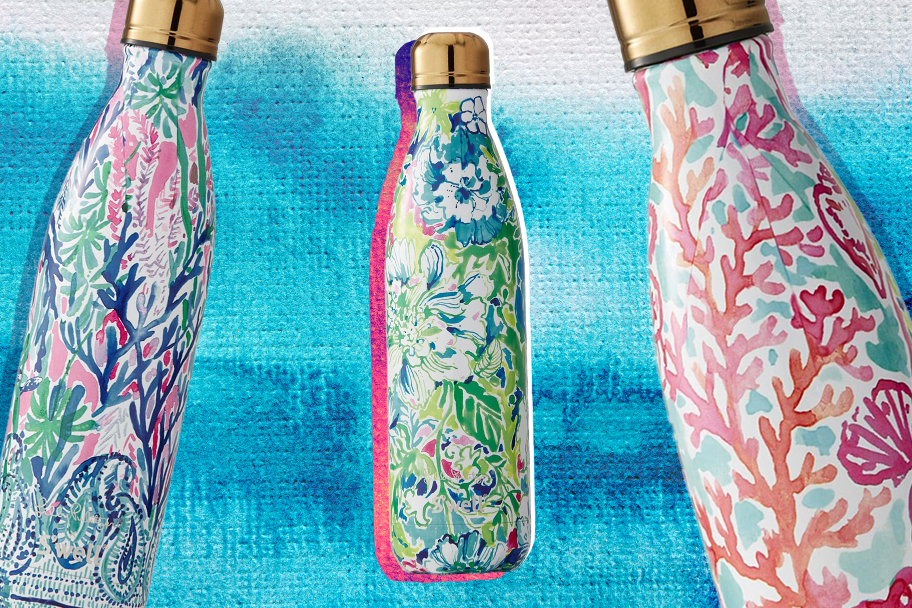 378dc59198 Lilly Pulitzer and S'Well Made the Prettiest Water Bottles You've Ever Seen