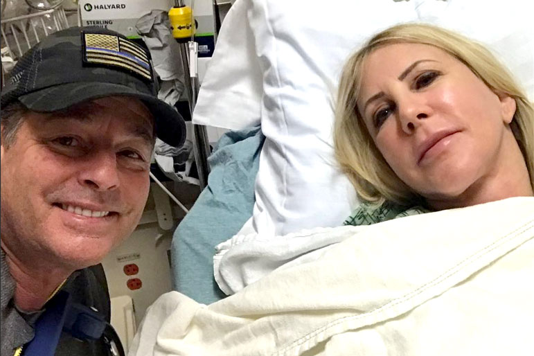 """Vicki Gunvalson Had Steve Lodge Right by Her Side for a Recent Medical Procedure That """"Has to Be Done"""" (UPDATED)"""