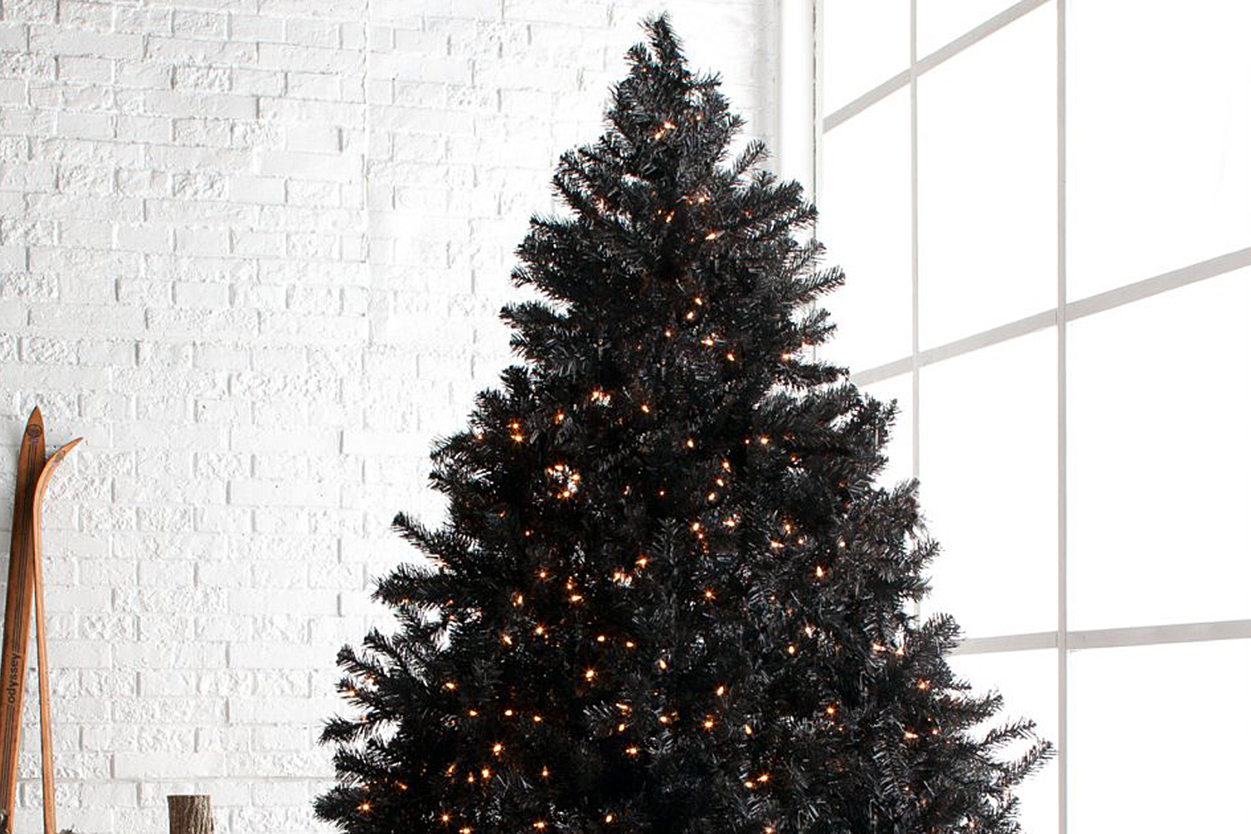Christmas Trend 2018 Black Christmas Trees Style Living