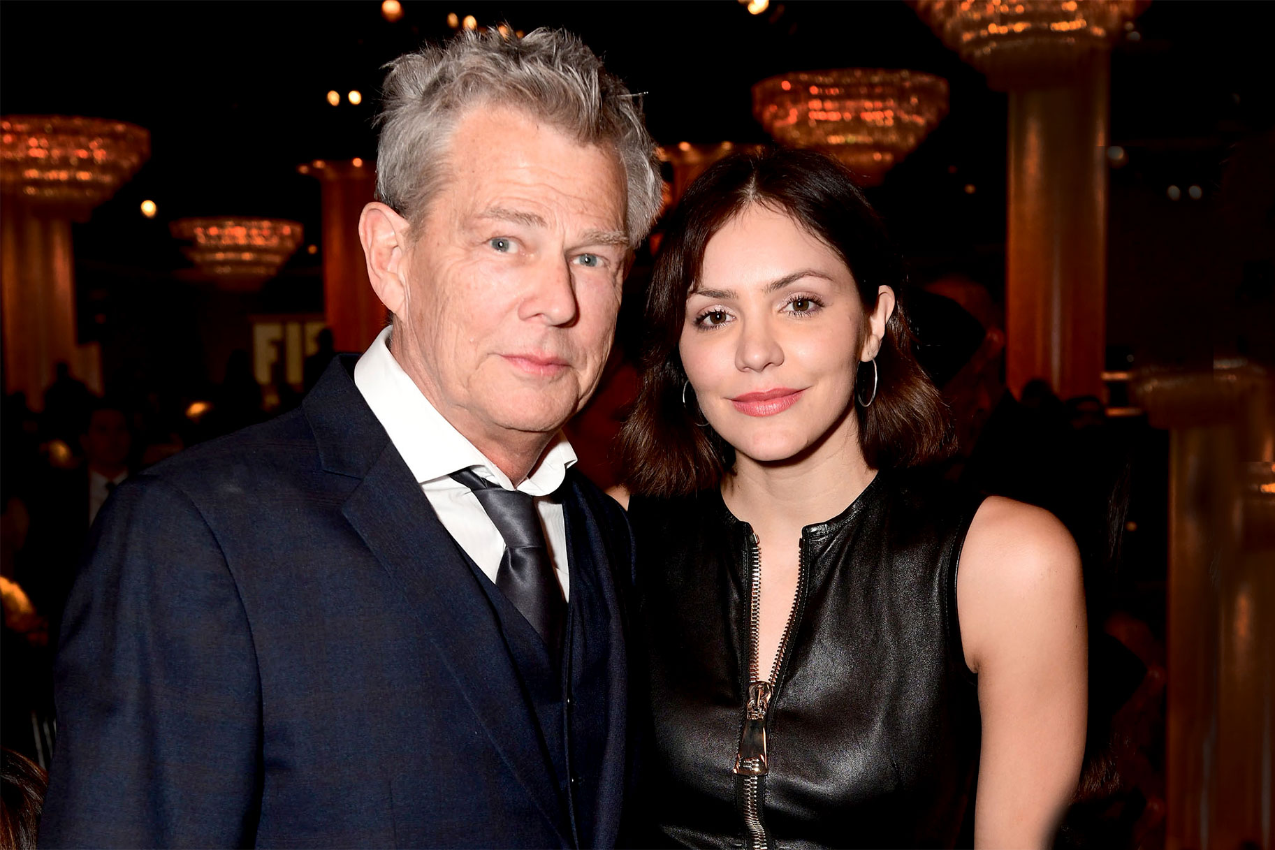 David Foster Katharine Mcphee Have Music Humor In Common The Daily Dish