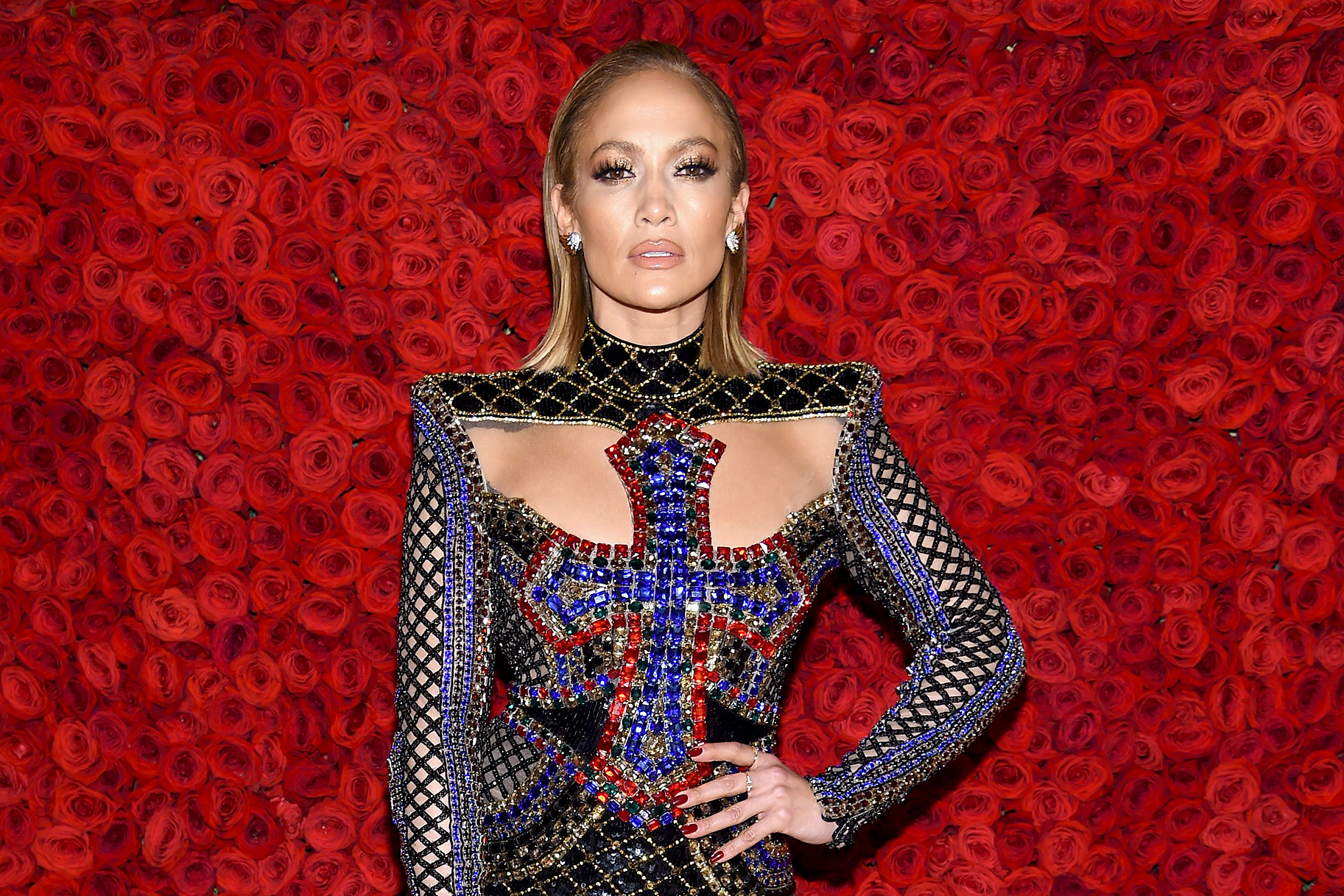 "Jennifer Lopez Makes This Protein Shake Recipe Twice Daily to ""Slim Down a Couple Pounds"" in Days"
