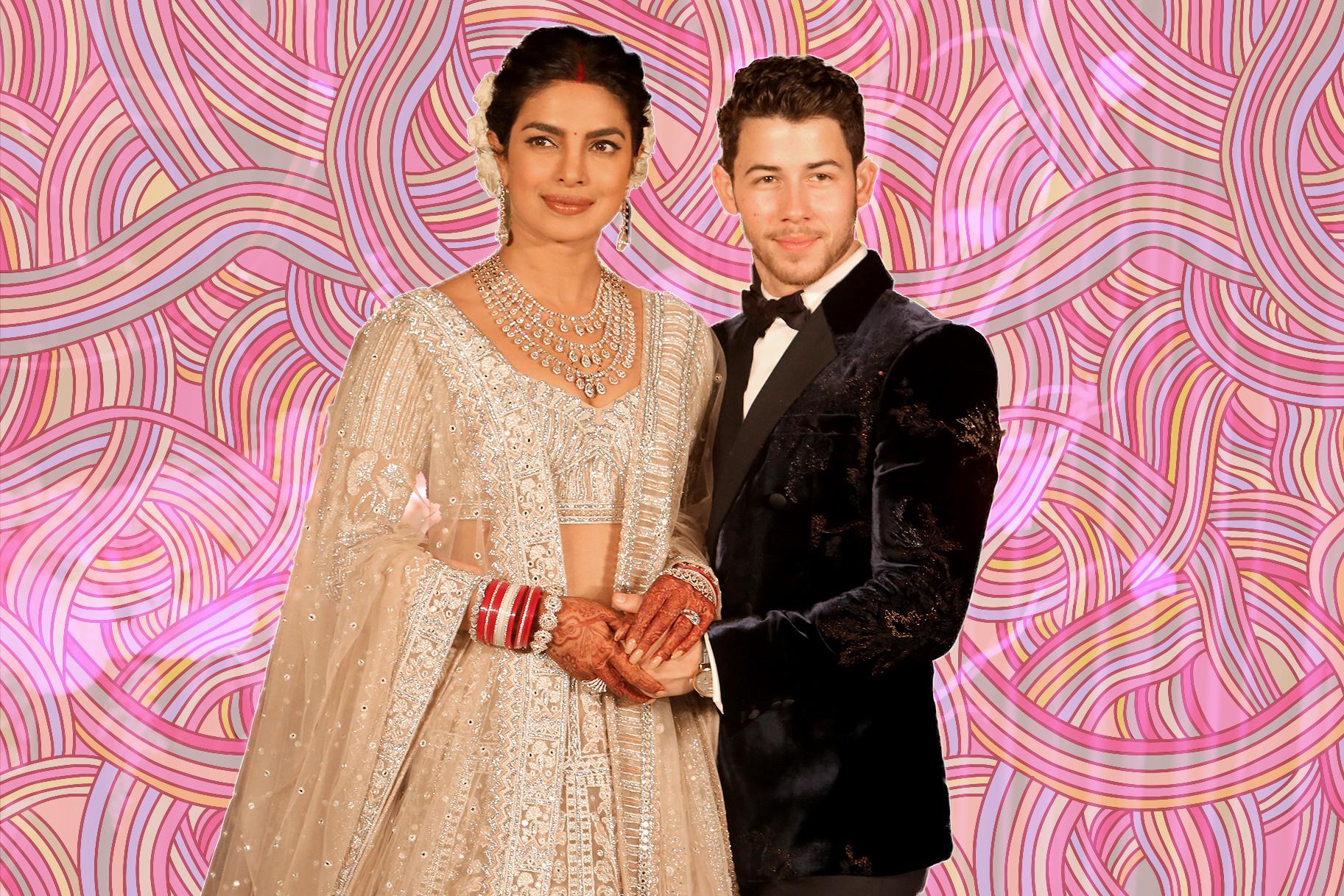 Nick Jonas And Priyanka Chopra S 18 Foot Wedding Cake Photos