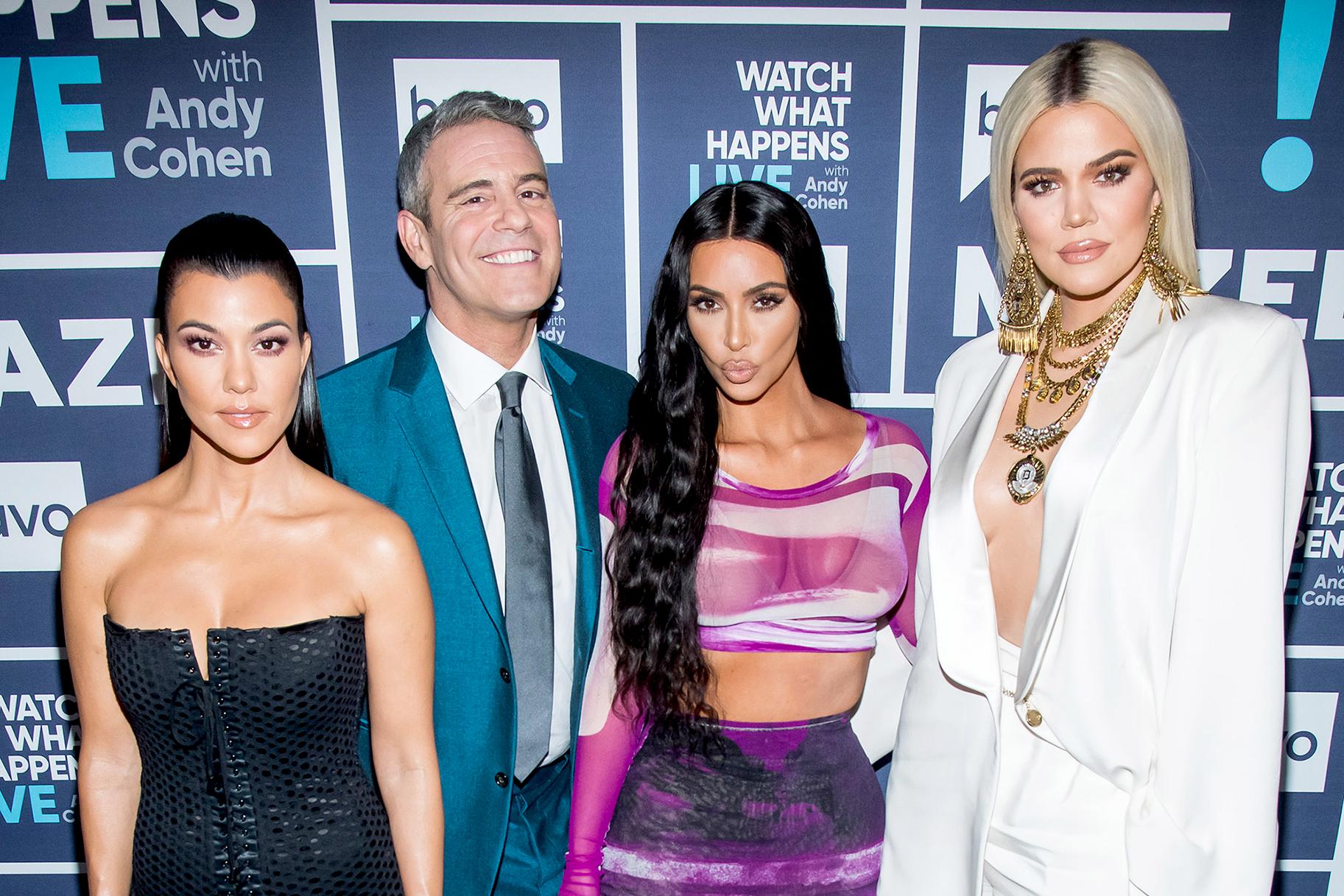 41208a92ea0b5 Kim, Khloe, Kourtney Kardashian: Parenting Advice Andy Cohen | Personal  Space