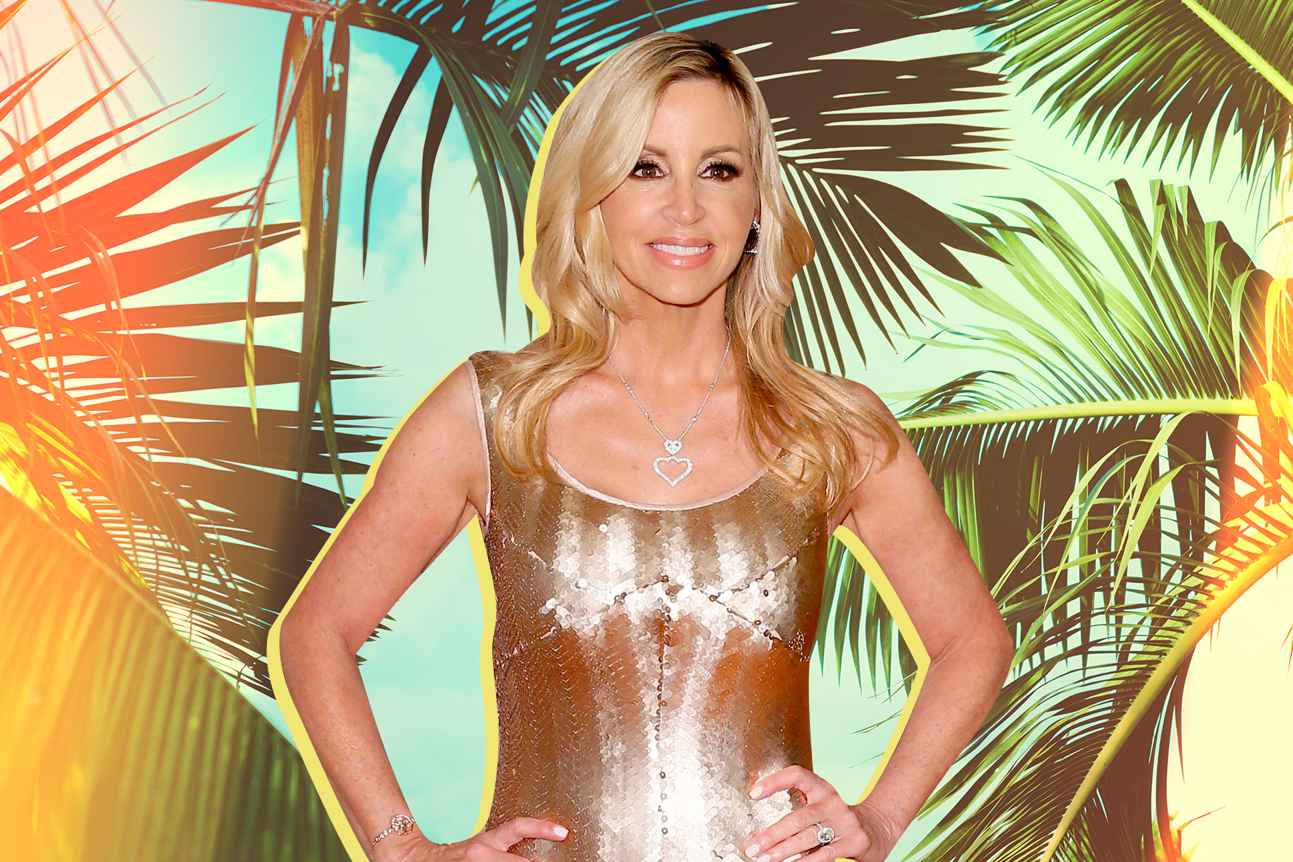 Following the Woolsey Fires, Camille Grammer Has a New Home That Is Literally at the Water's Edge