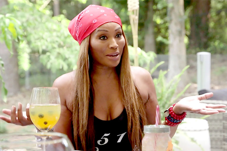 "Cynthia Bailey *May* Have ""Dipped Her Small Pinky Toe"" in the Lady Pond"