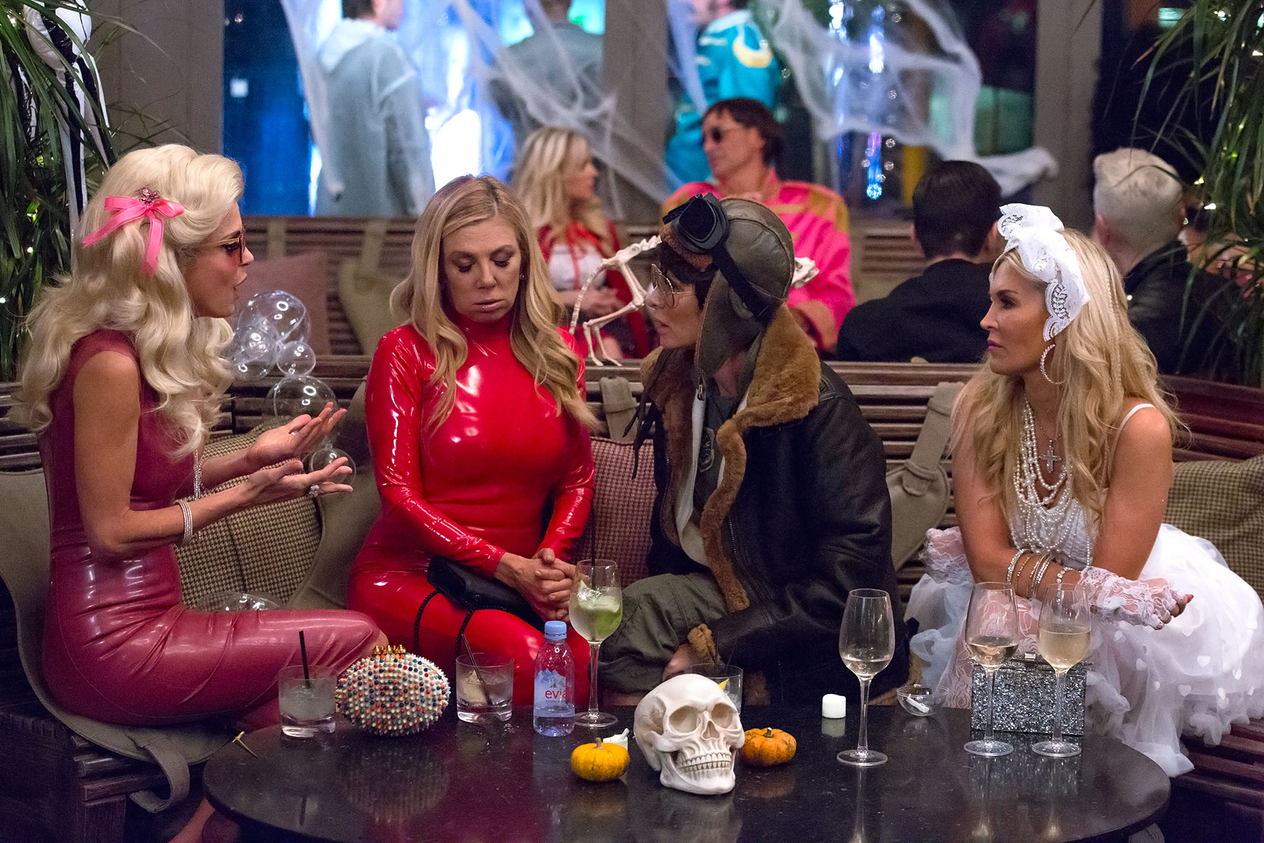 Real Housewives Of New York Season 10 Halloween Party 11